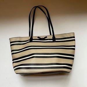 Kate Spade NY Eden St Multicolor Stripe Tote Bag